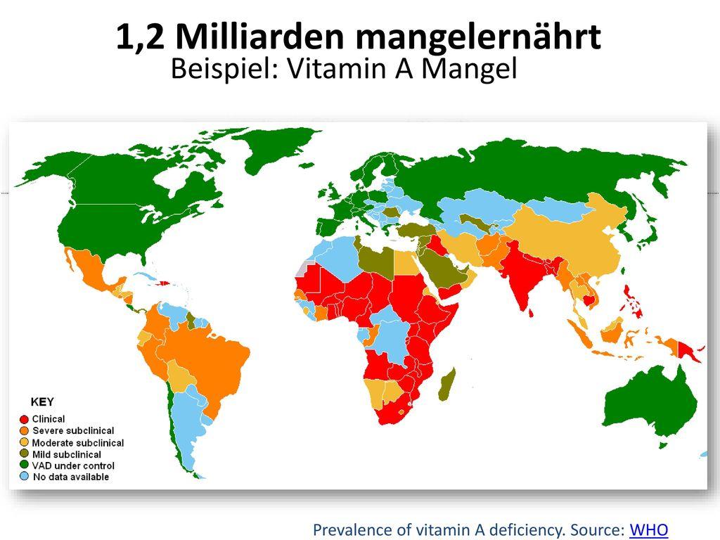 1,2 Milliarden mangelernährt