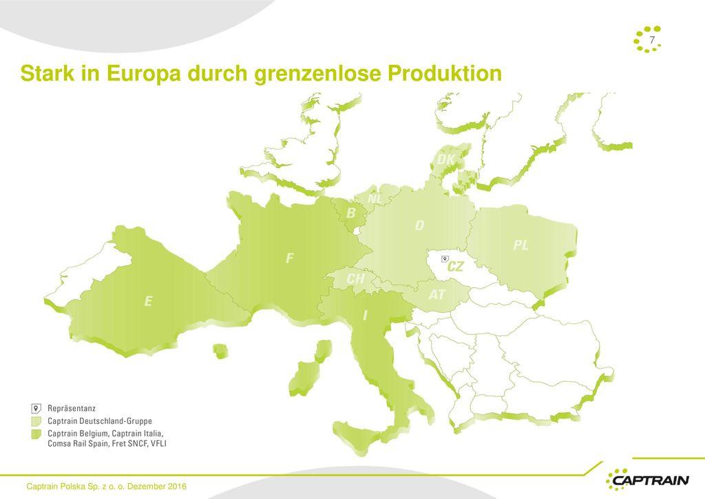 Stark in Europa durch grenzenlose Produktion