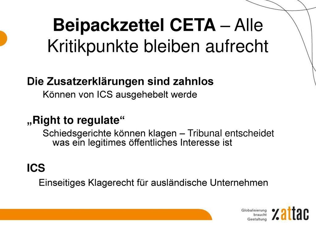 4) TTIP/CETA/TISA – was wird da verhandelt