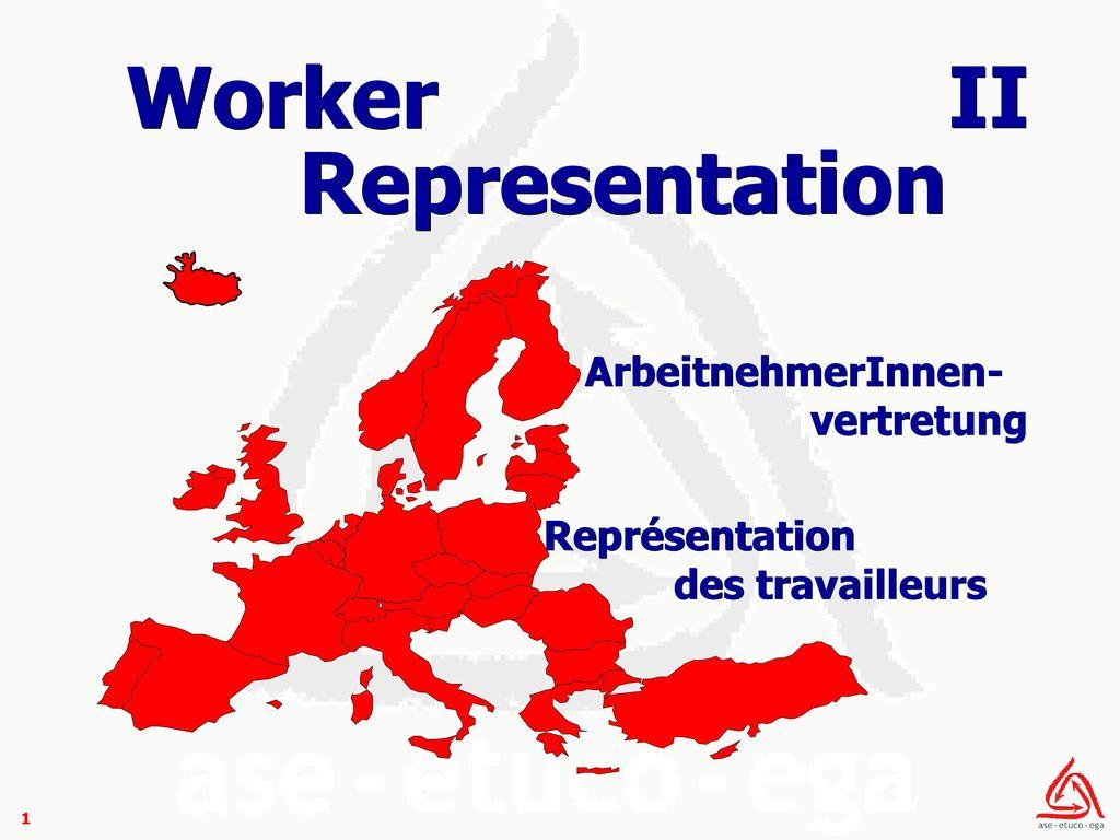 Worker Representation