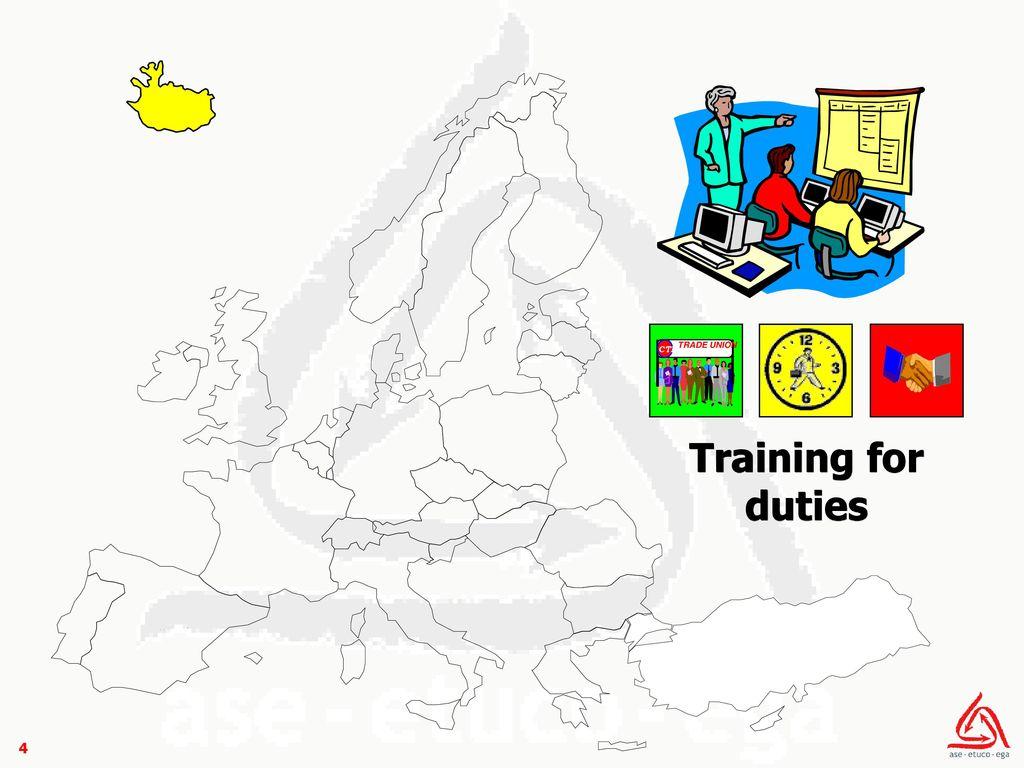 TRADE UNION CTI Training for duties