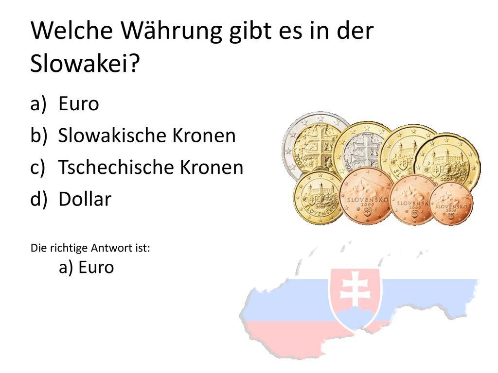 Welche Währung gibt es in der Slowakei