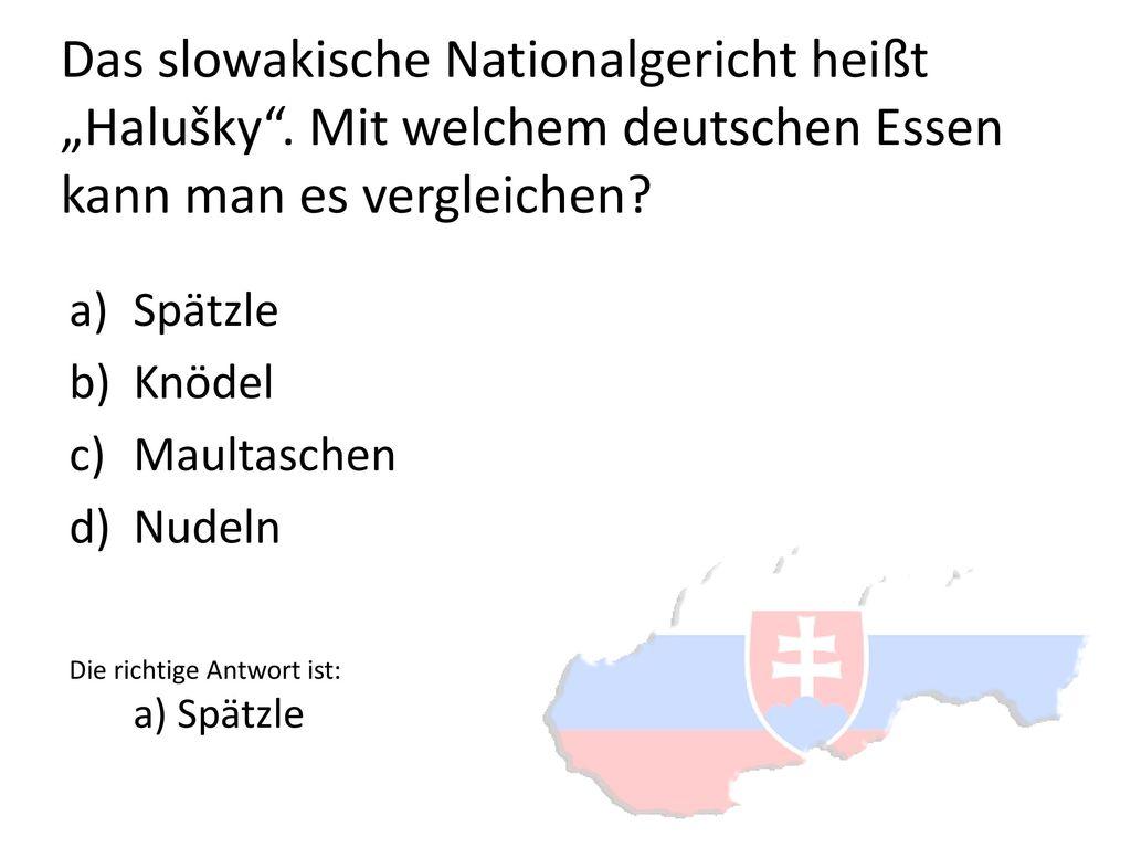 """Das slowakische Nationalgericht heißt """"Halušky"""