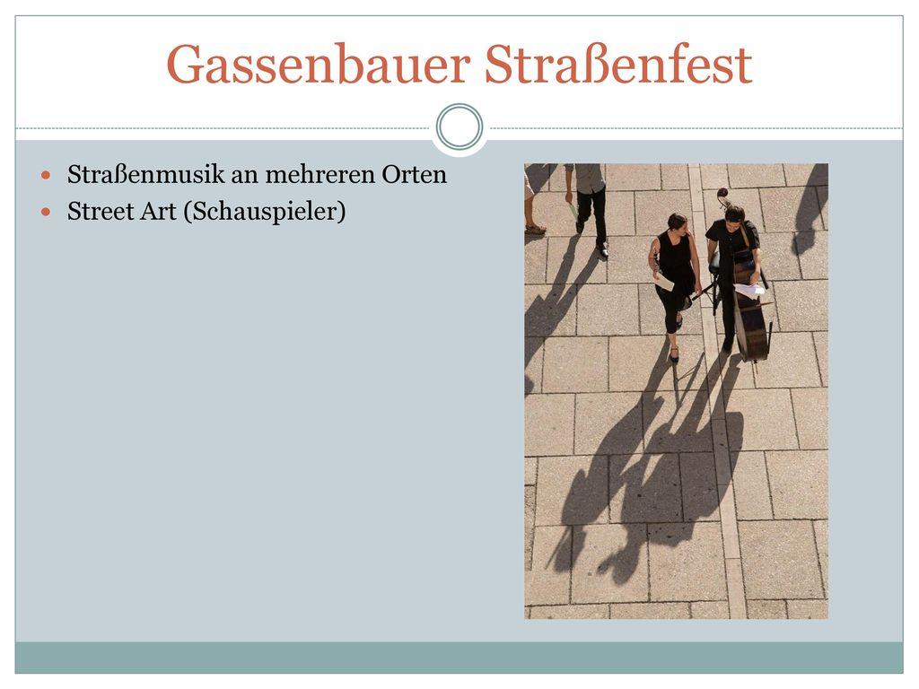 Gassenbauer Straßenfest