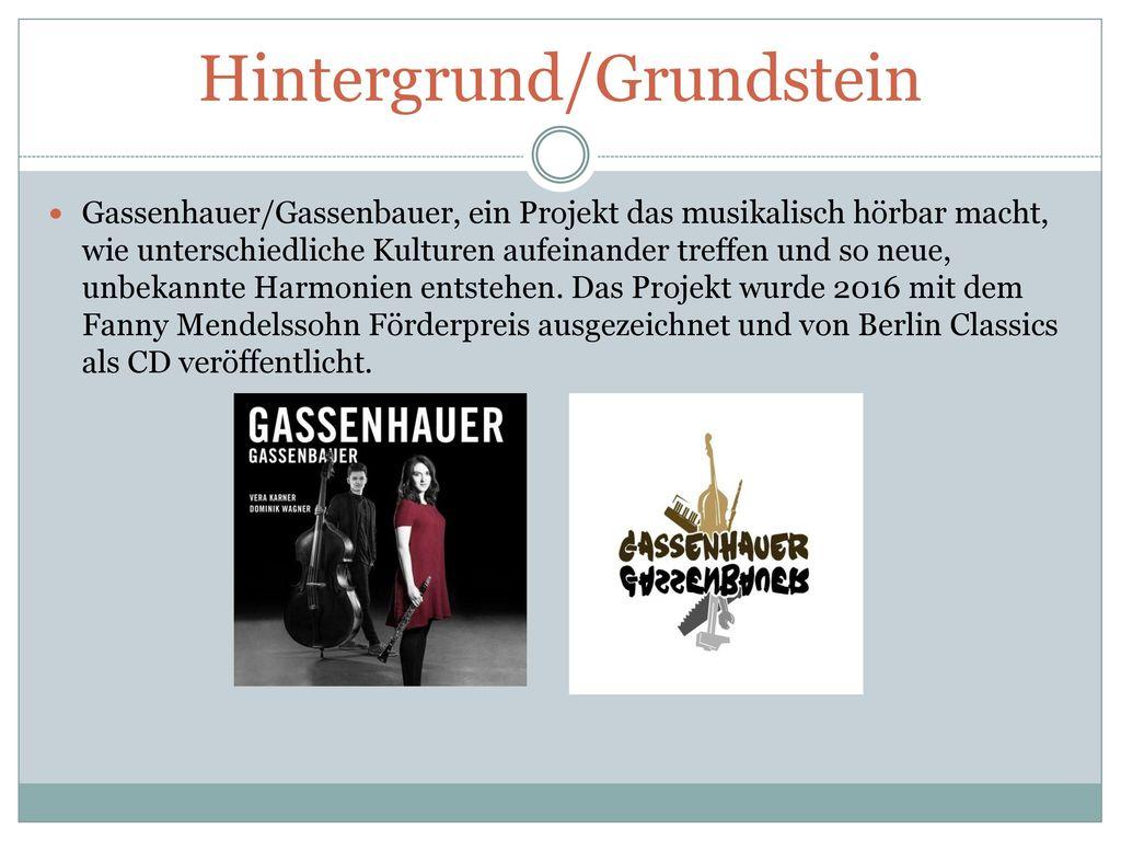 Hintergrund/Grundstein