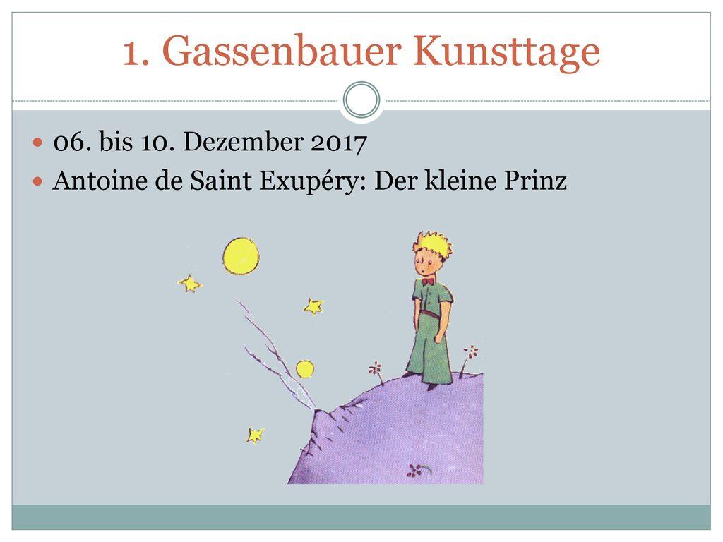 1. Gassenbauer Kunsttage