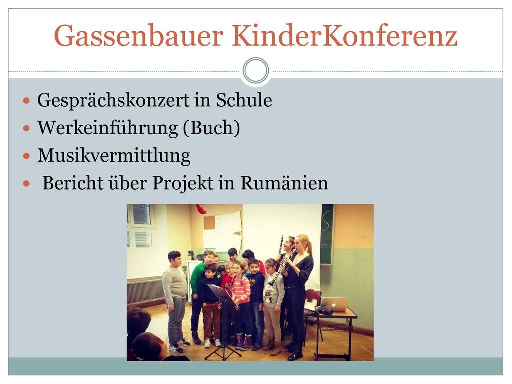 Gassenbauer KinderKonferenz