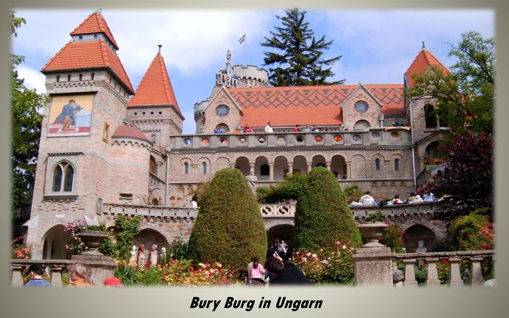 Bury Burg in Ungarn
