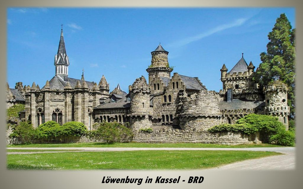 Löwenburg in Kassel - BRD