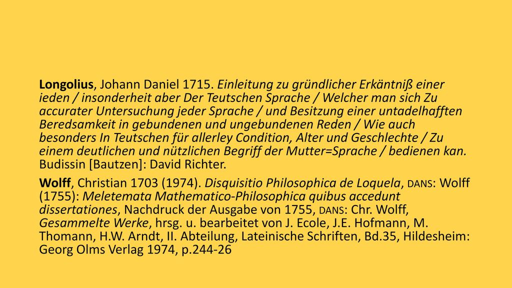 Longolius, Johann Daniel 1715