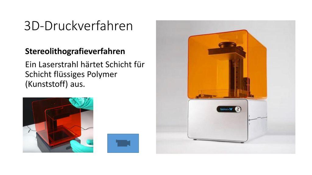 3D-Druckverfahren Stereolithografieverfahren