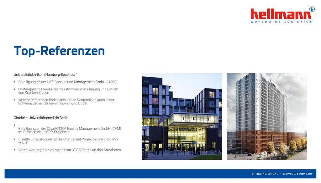Top-Referenzen Universitätsklinikum Hamburg-Eppendorf