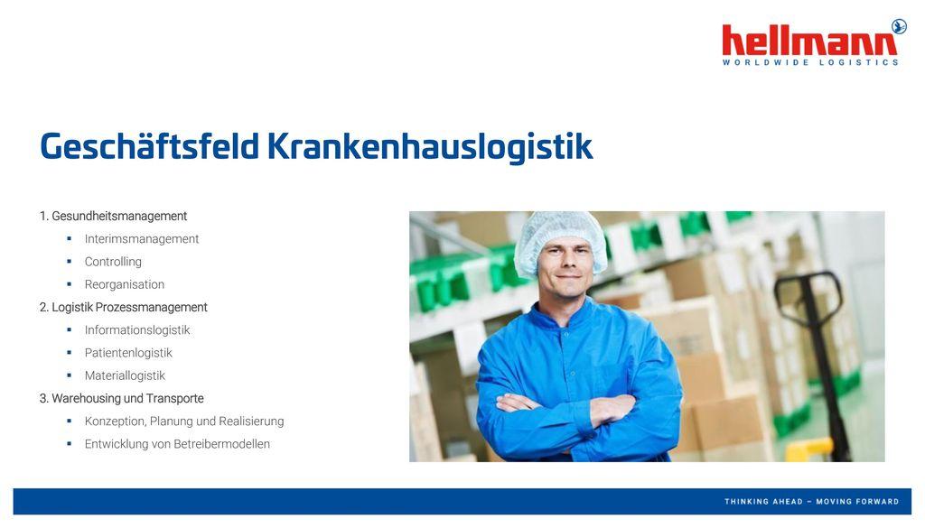 Geschäftsfeld Krankenhauslogistik