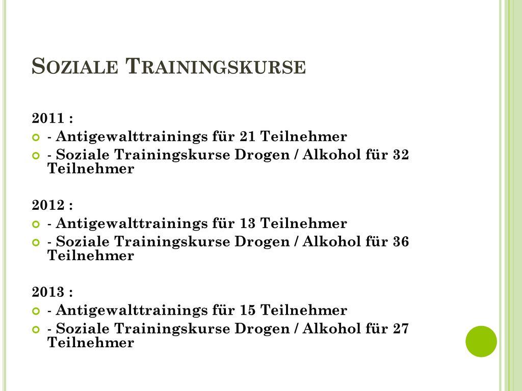 Soziale Trainingskurse