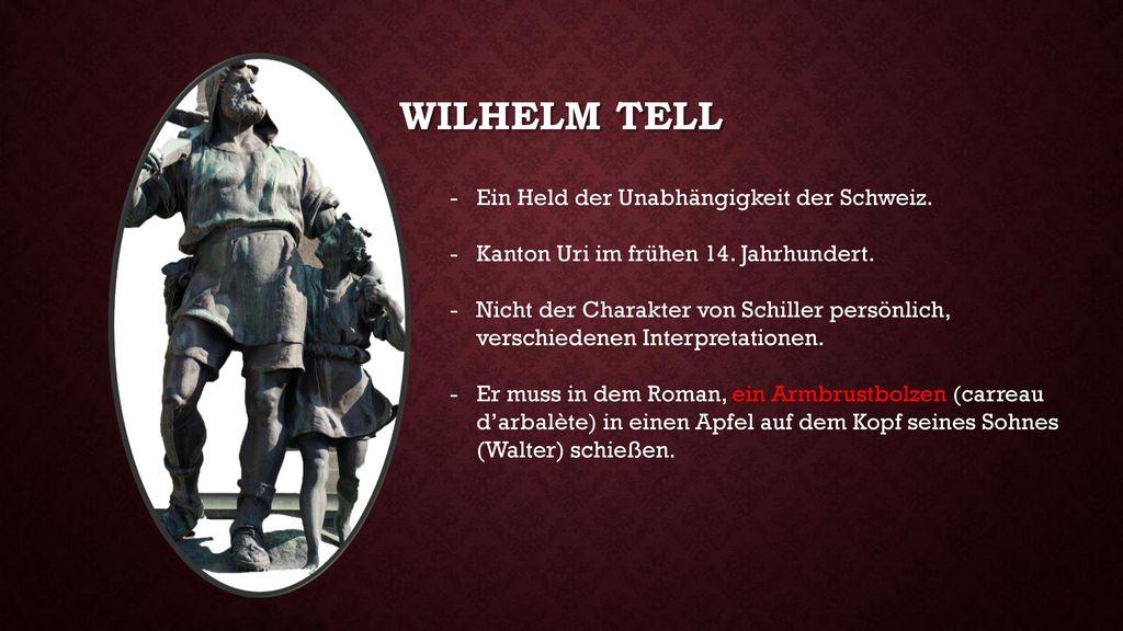 Wilhelm tell Ein Held der Unabhängigkeit der Schweiz.