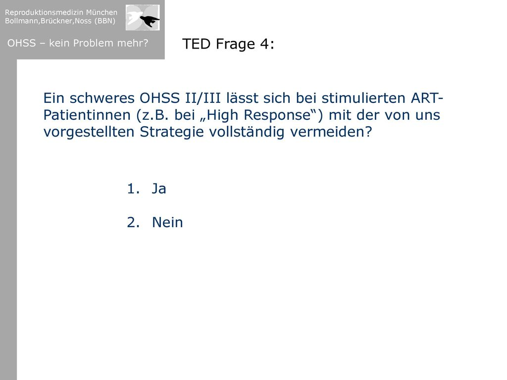 TED Frage 4: