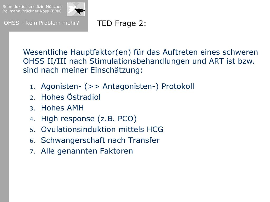 TED Frage 2: