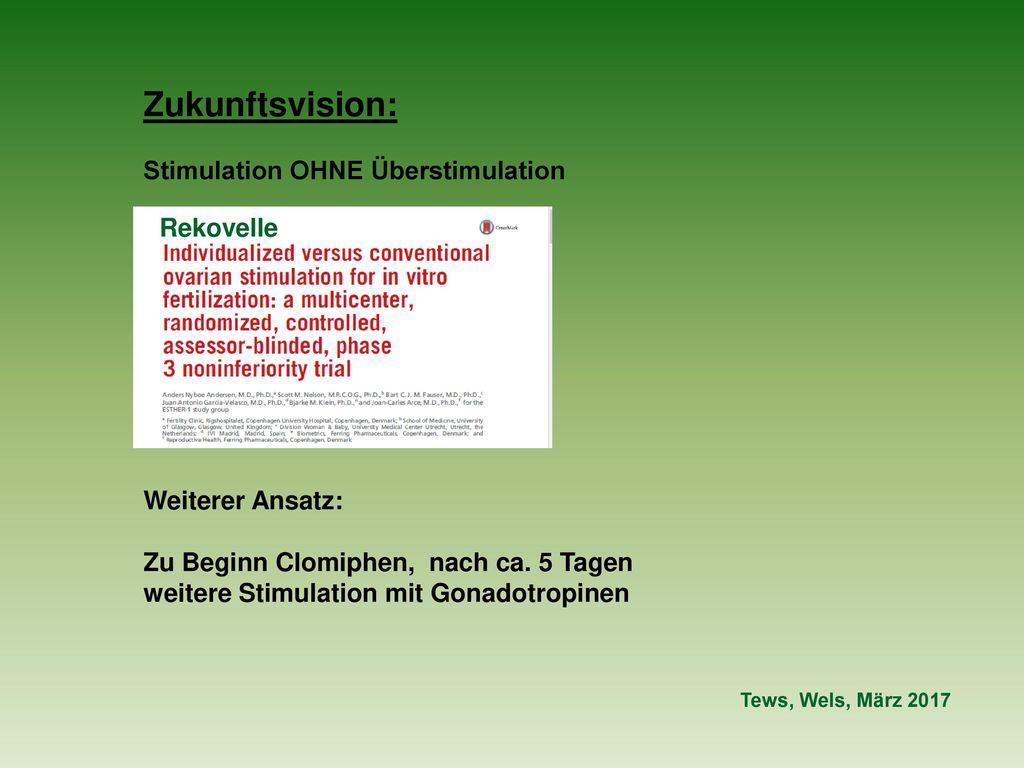 Zukunftsvision: Stimulation OHNE Überstimulation Rekovelle