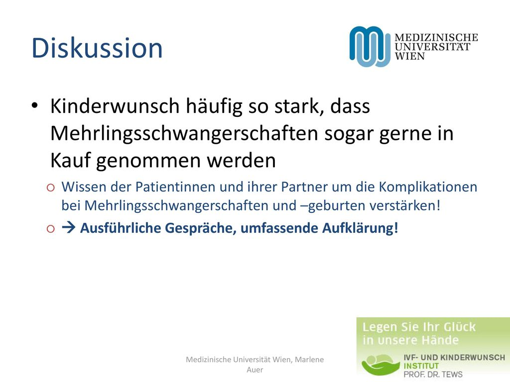 Medizinische Universität Wien, Marlene Auer