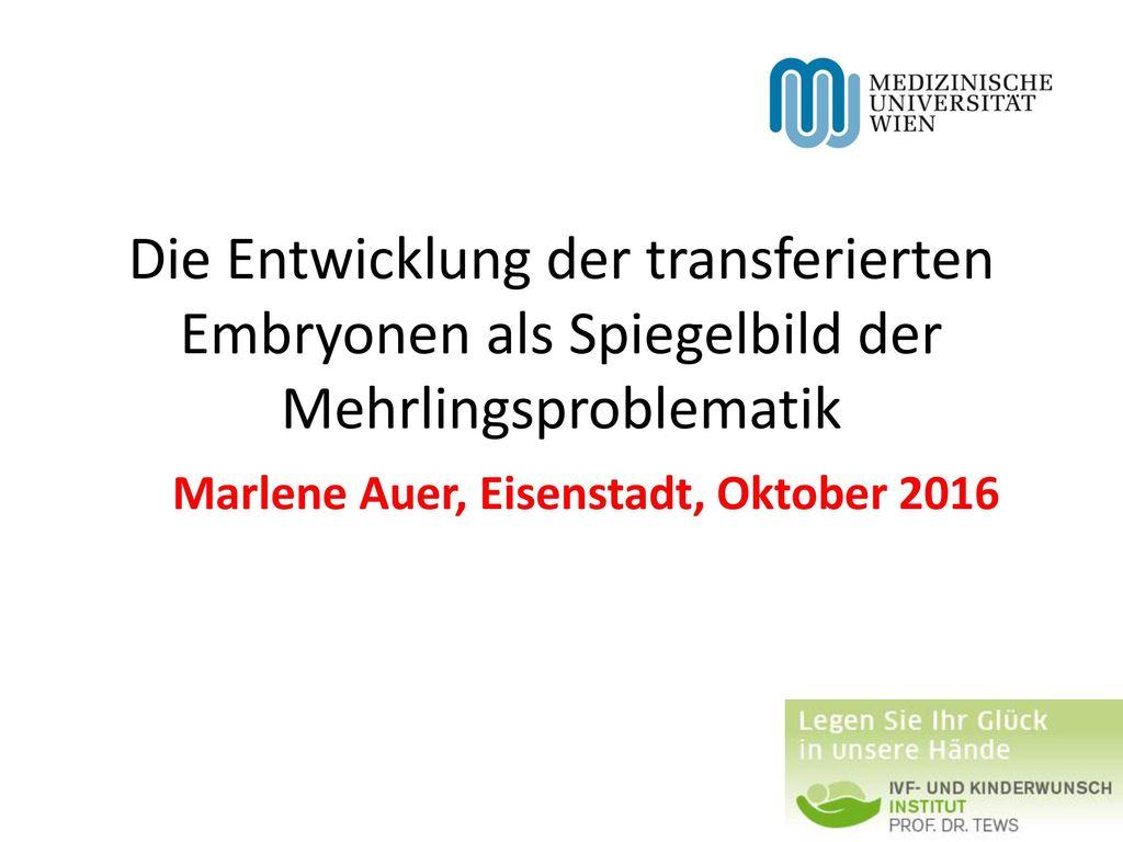 Marlene Auer, Eisenstadt, Oktober 2016
