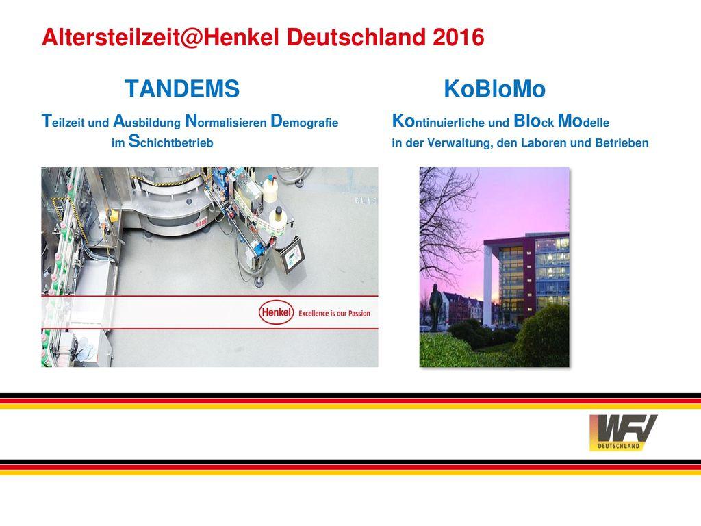 Altersteilzeit@Henkel Deutschland 2016
