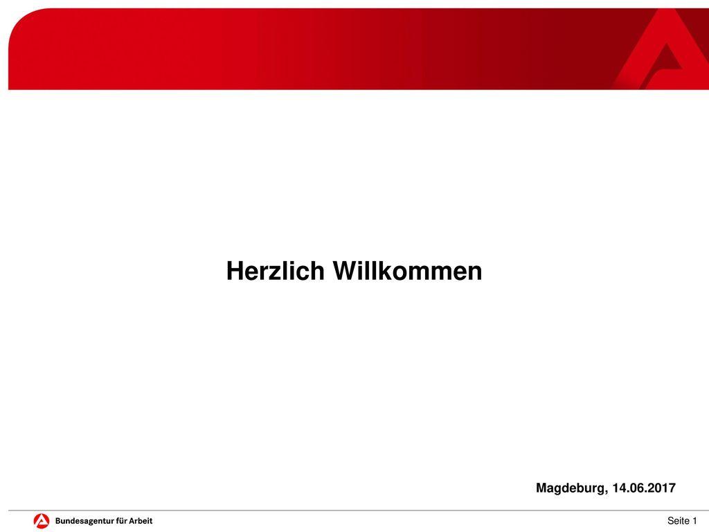 Herzlich Willkommen Möchten Sie das Logo ändern Magdeburg, 14.06.2017