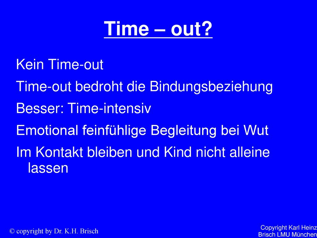Time – out