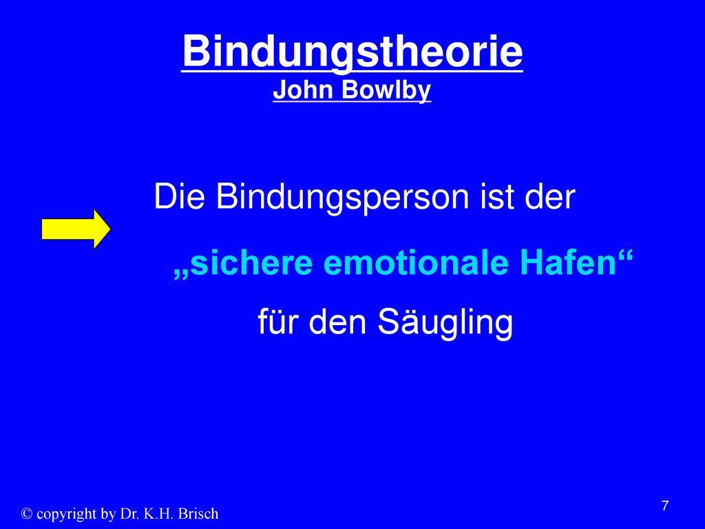 Bindungstheorie John Bowlby