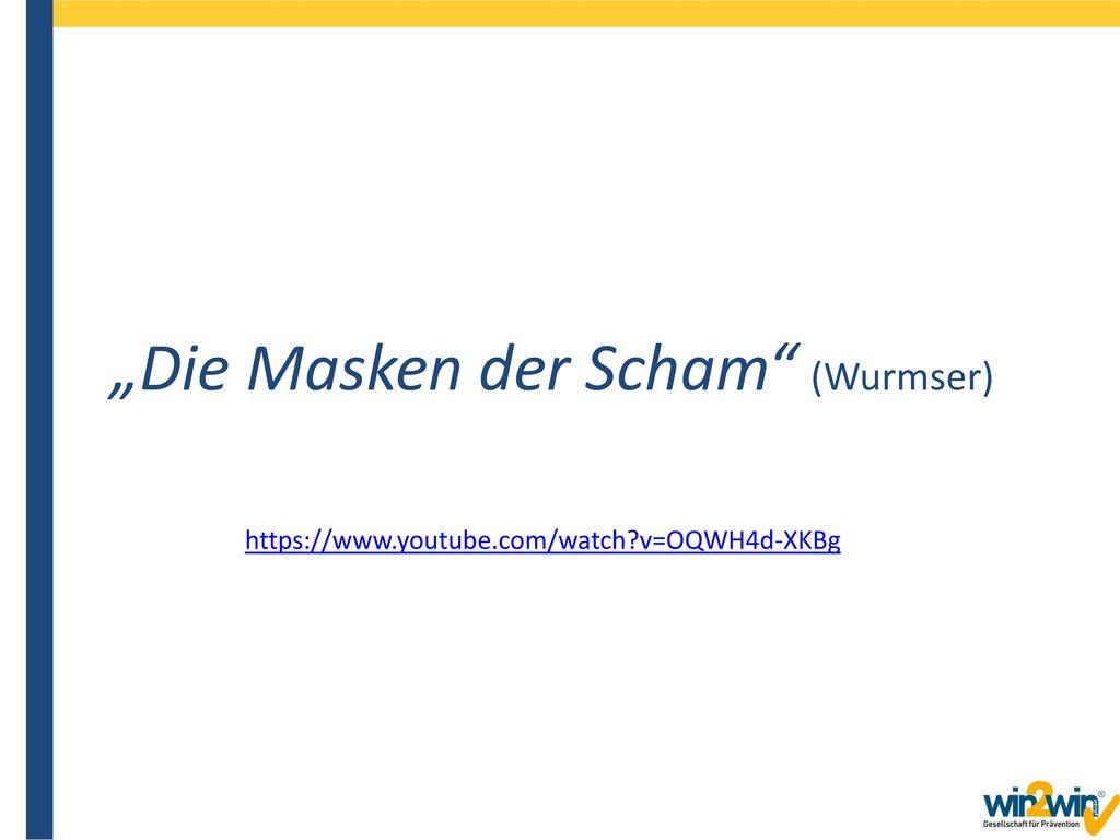 """""""Die Masken der Scham (Wurmser)"""