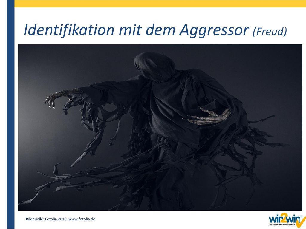 Identifikation mit dem Aggressor (Freud)