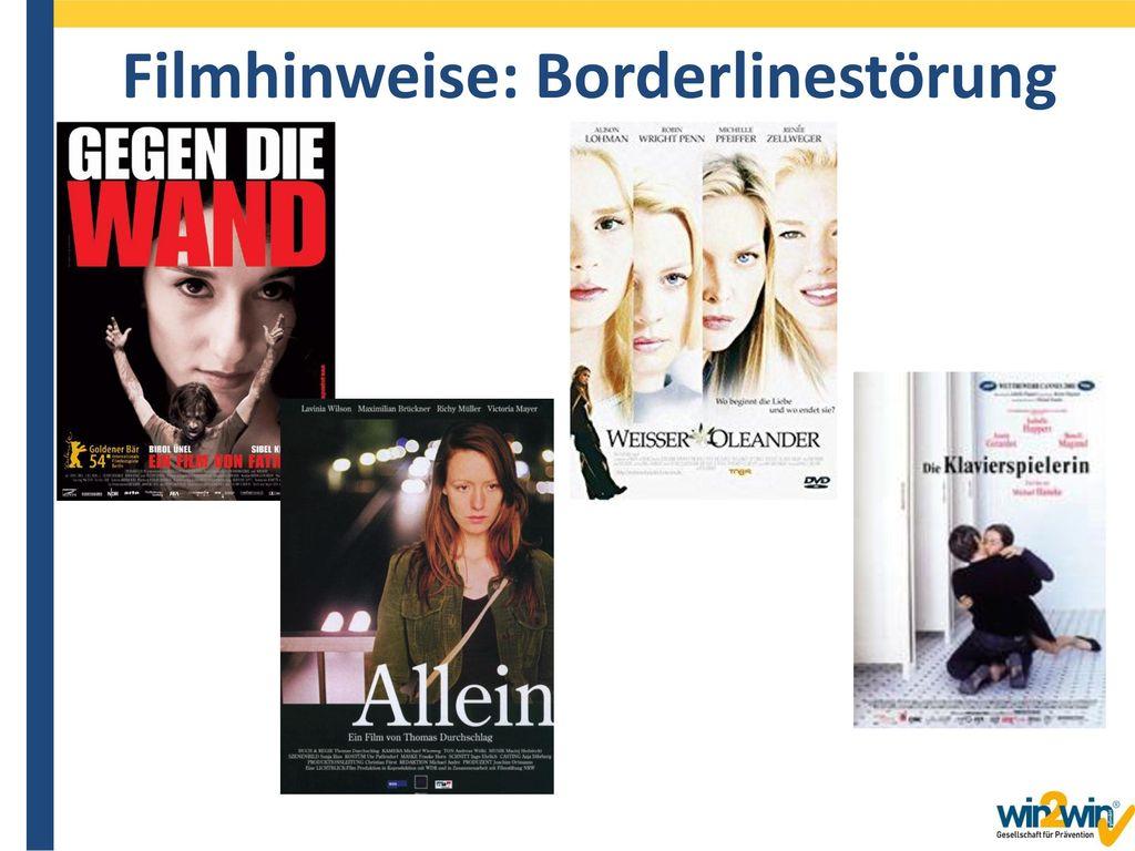 Filmhinweise: Borderlinestörung