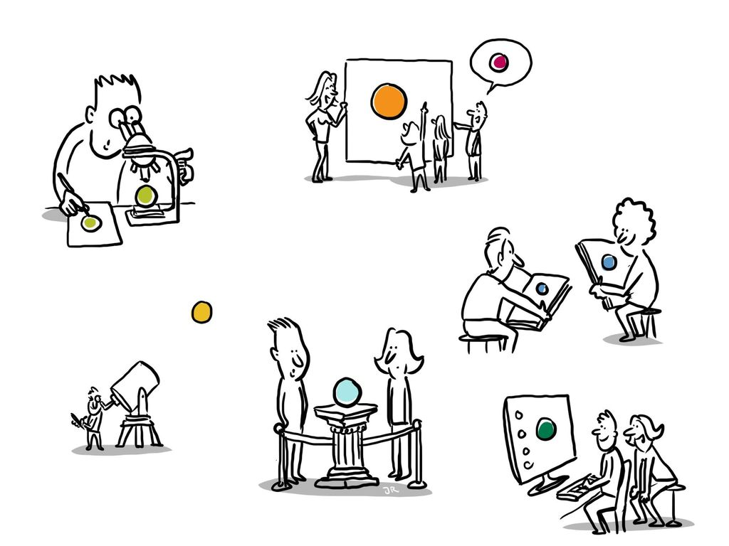 …aber die Umsetzung im Unterricht bekommt einen neuen Fokus