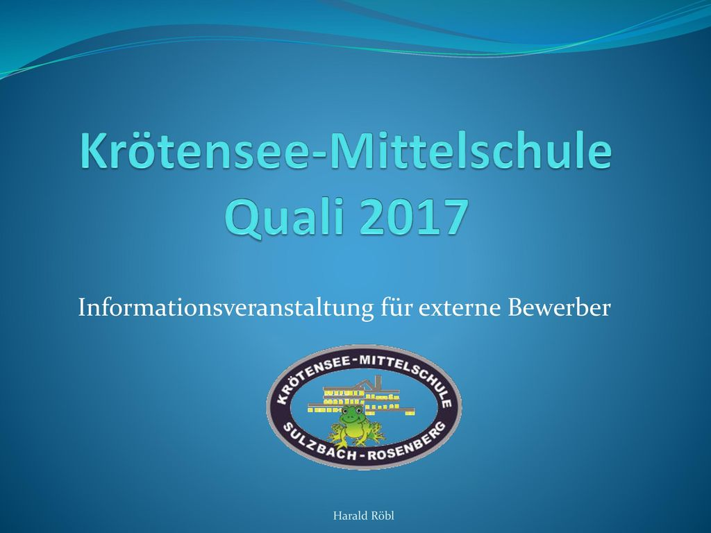 Krötensee-Mittelschule Quali 2017