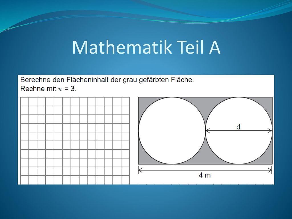 Mathematik Teil A
