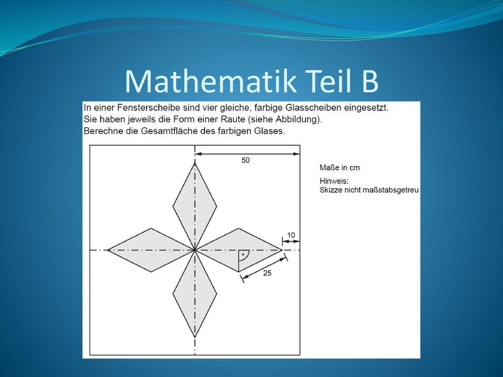 Mathematik Teil B