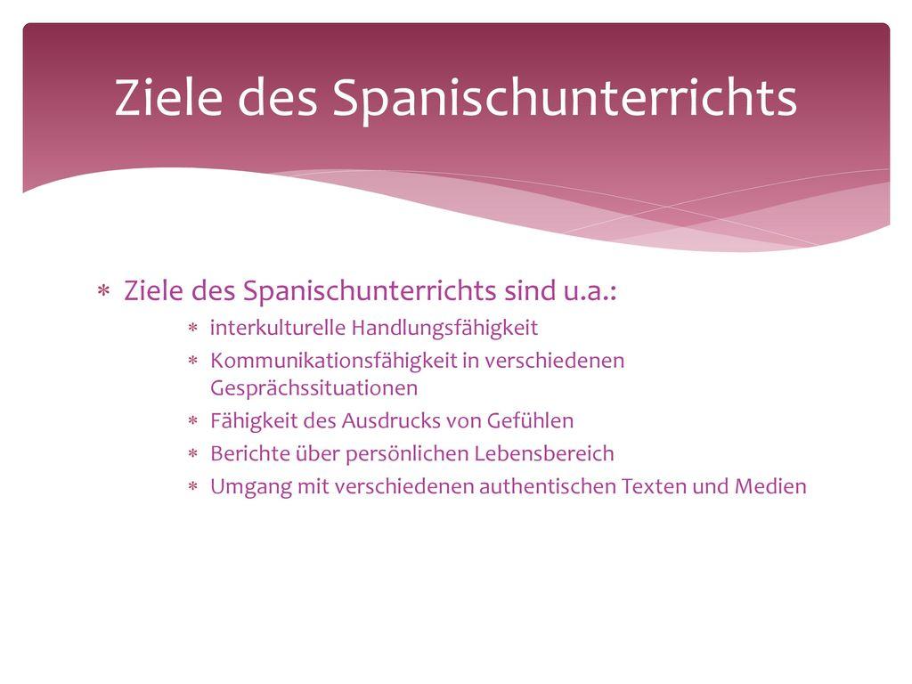 Erfolg des Faches Spanisch am CSG