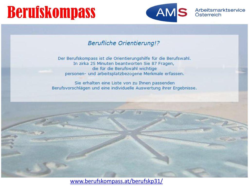 Berufskompass www.berufskompass.at/berufskp31/