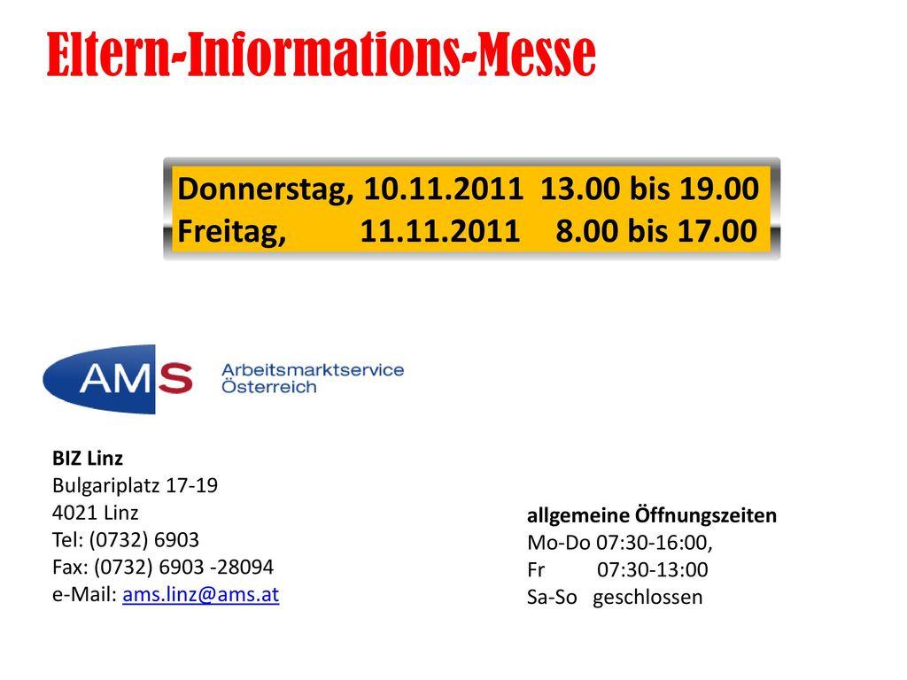 Eltern-Informations-Messe