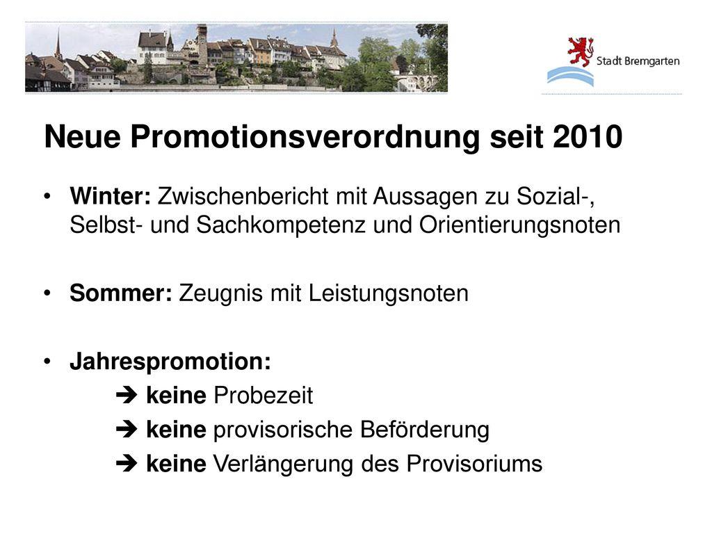 Neue Promotionsverordnung seit 2010