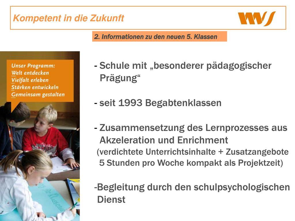"""Schule mit """"besonderer pädagogischer Prägung"""