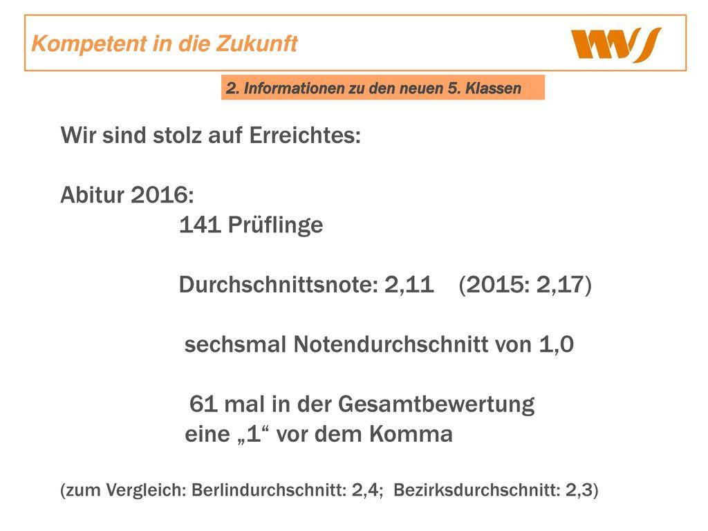 Wir sind stolz auf Erreichtes: Abitur 2016: 141 Prüflinge