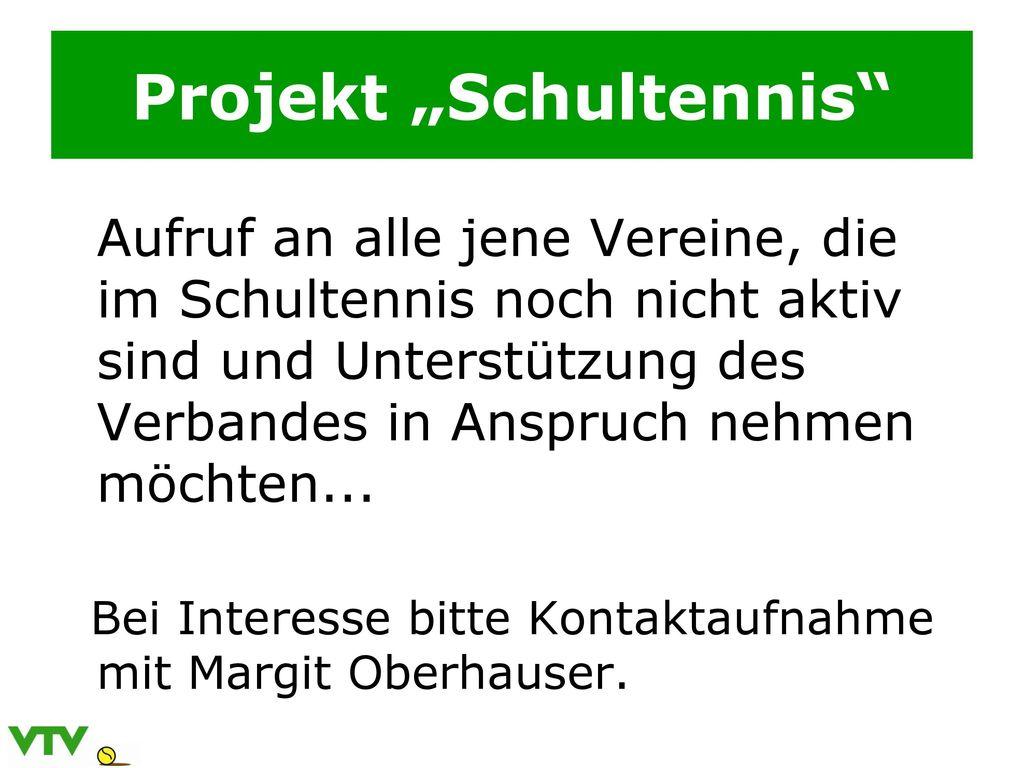 """Projekt """"Schultennis"""