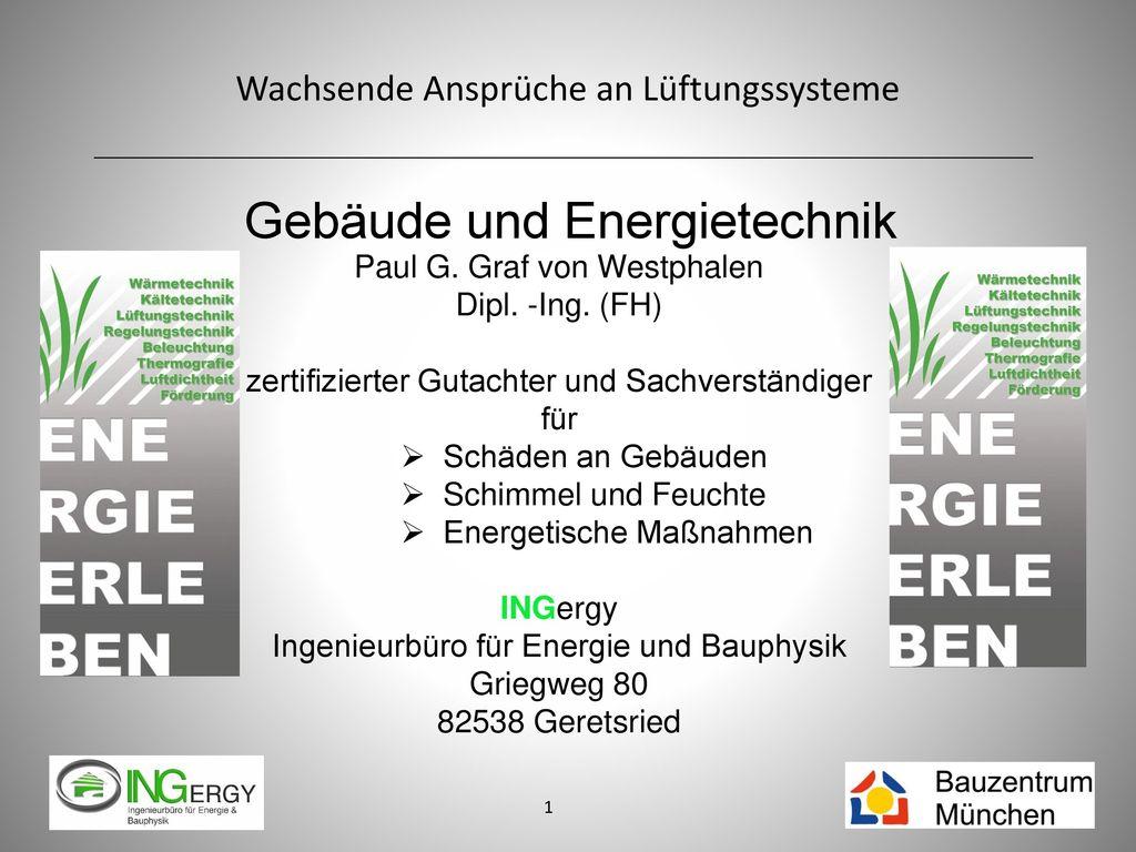 Gebäude und Energietechnik