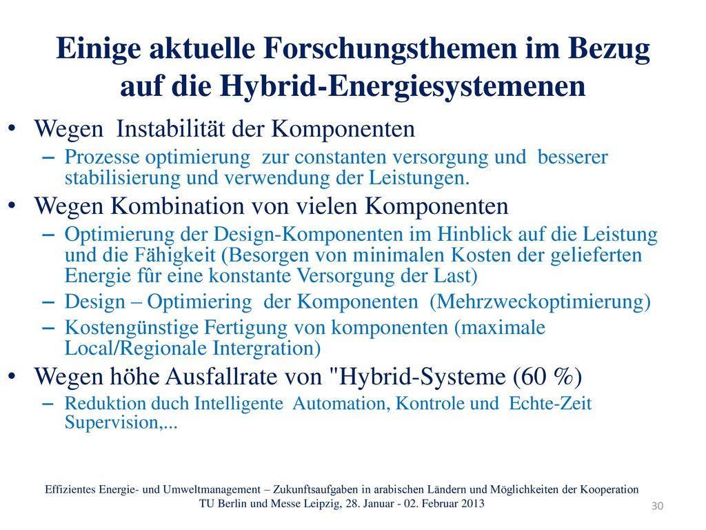 TU Berlin und Messe Leipzig, 28. Januar - 02. Februar 2013