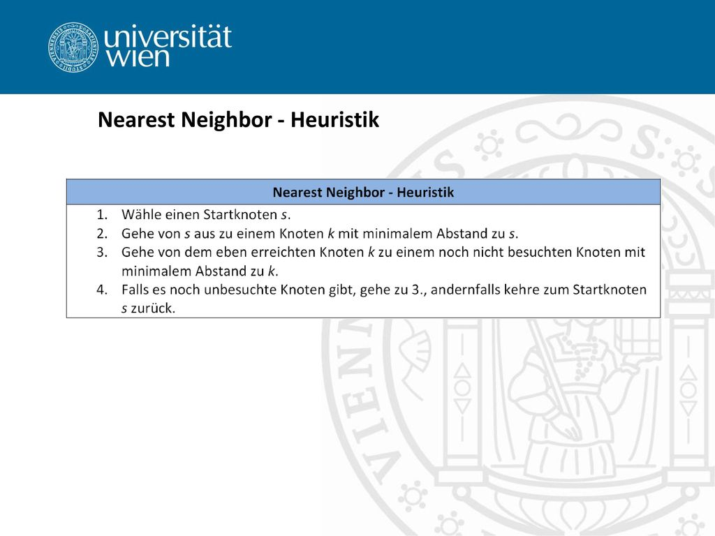 Nearest Neighbor - Heuristik