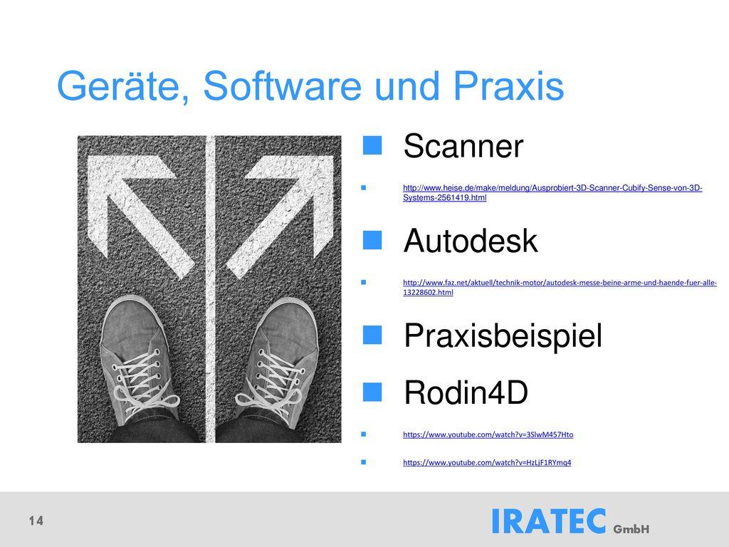 Geräte, Software und Praxis