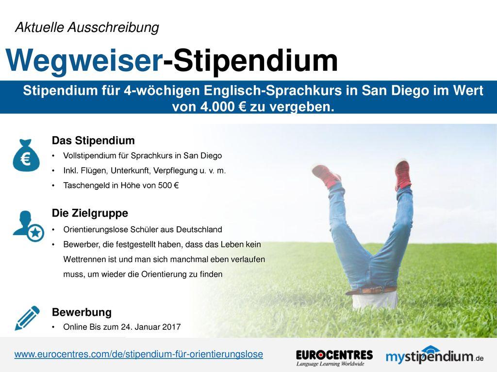 Wegweiser-Stipendium