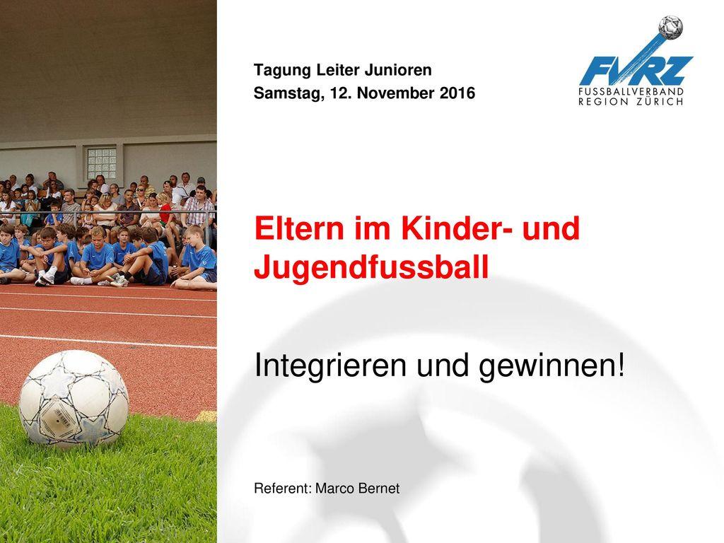 Eltern im Kinder- und Jugendfussball