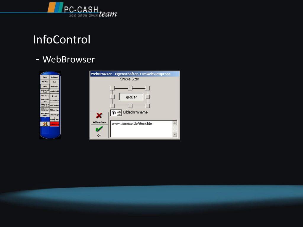 InfoControl - WebBrowser