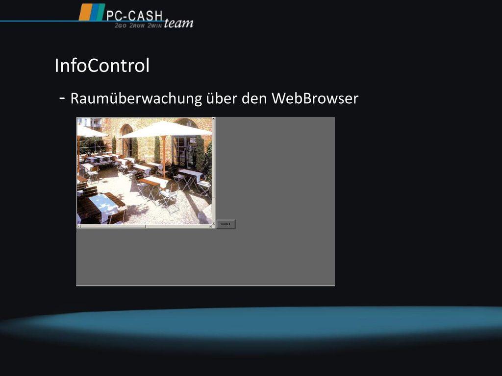 InfoControl - Raumüberwachung über den WebBrowser